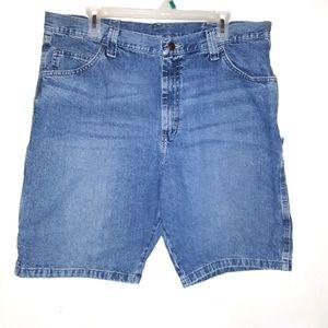 Wrangler denim carpenters shorts